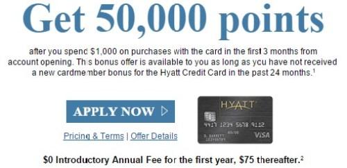 Chase Visa Hyatt
