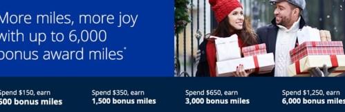 Bonus miles Shop online at MileagePlus Shopping