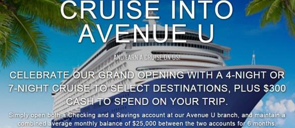 Cruise to Ave U