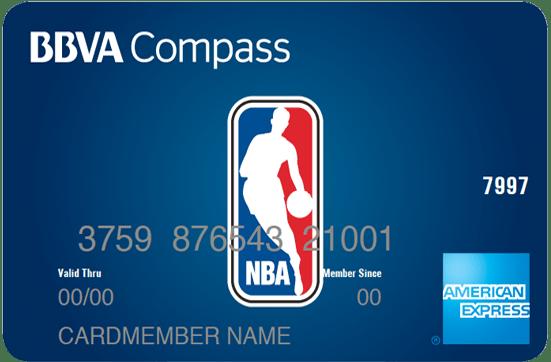 BBVA NBA Amex card