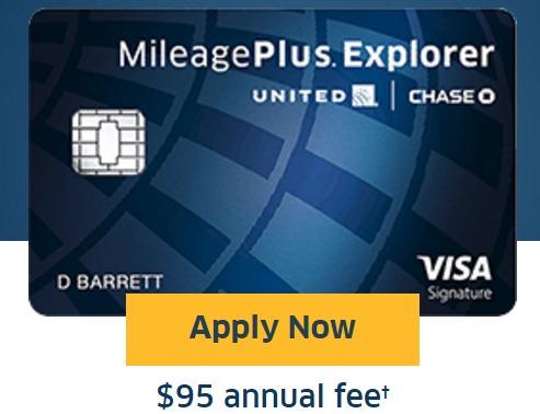Chase MileagePlus Explorer Card