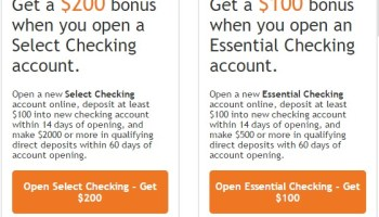 First Tennessee Bank, $300 Business Checking Bonus (Select
