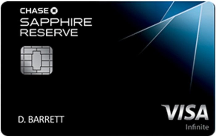 Chase Sapphire Reserve changes