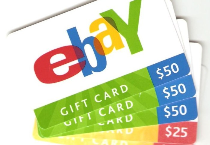 ebay gift cards paypal
