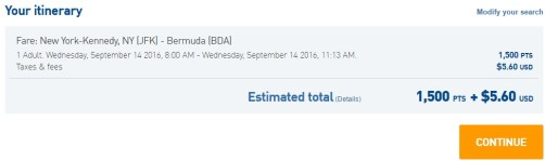 Flight Selection JFK - Bermuda.jpeg