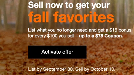 15 Coupon For Every 100 In Sales On Ebay Up To 75 Targeted Danny The Deal Guru
