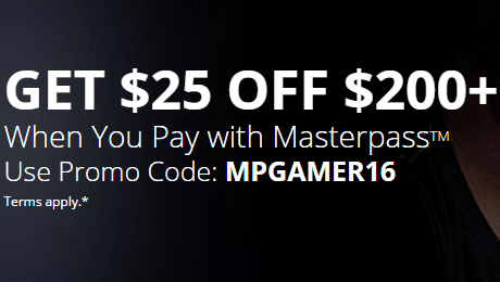 25 Off 200 At Newegg With Masterpass Danny The Deal Guru