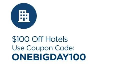 One Big Day   100 Off Hotels   Travelocity.com.jpeg