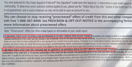 Chase Pre Approval >> Chase Sapphire Preferred 70k Pre Approved Offer In Branch Ymmv