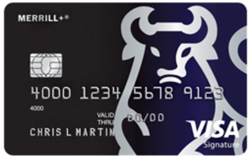 Merrill+ Visa Signature Card