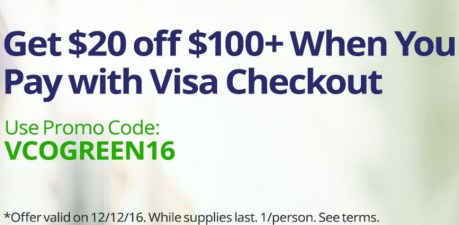 Green Monday Visa Checkout Offer Newegg.com.jpeg