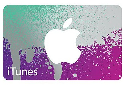 iTunes Gift Cards At Staples