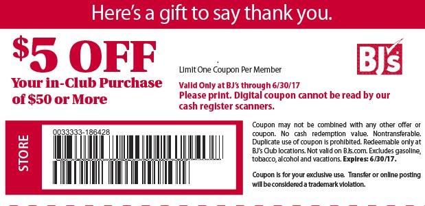 photo regarding Bjs Printable Coupons named Bjs subscription offers 2019
