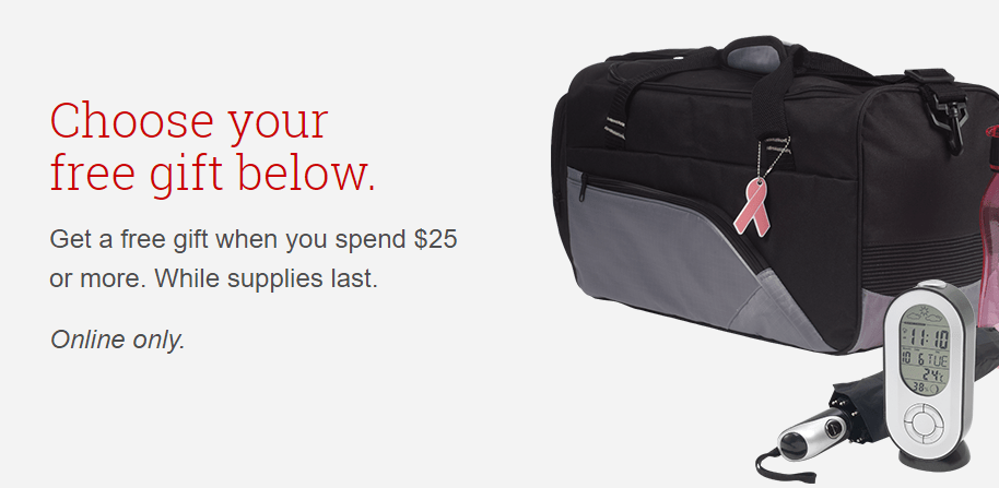 Choose Free Gift When You Spend $25 At Staples