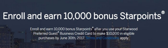 spg business spending bonus