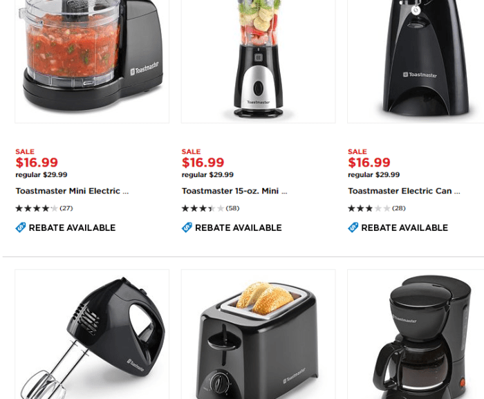 kohls free appliances rebate
