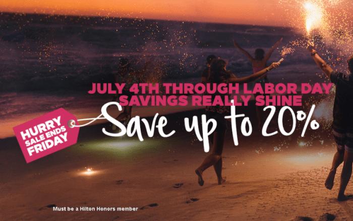 hilton americas summer promo