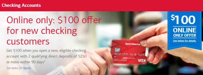 Bank of America Checking Bonus