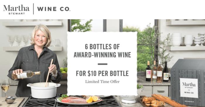 Martha Stewart Wine amex offer