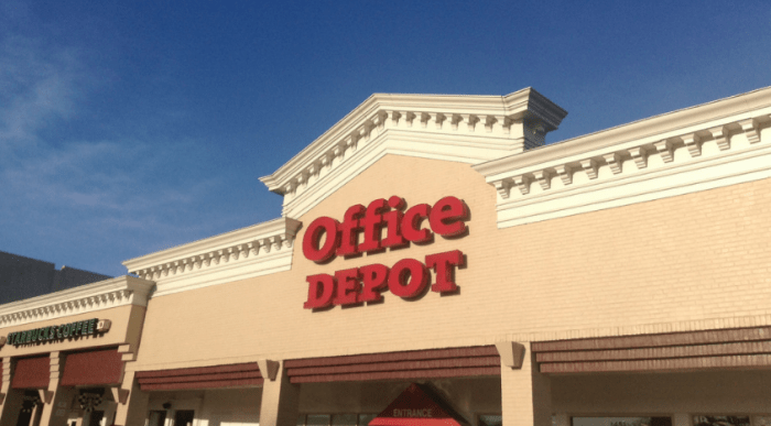 Office Depot gift card deal