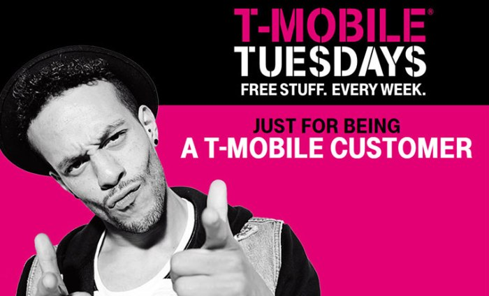 tmobile tuesdays offers