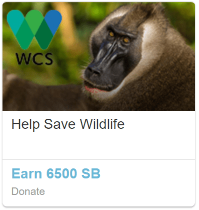 swagbucks wildlife offer