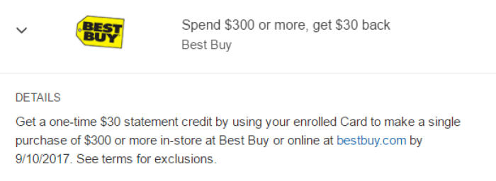 best buy amex offer