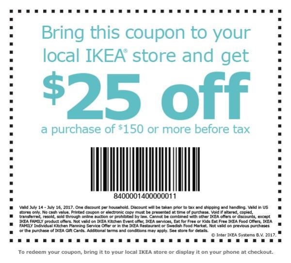 ikea discount coupon