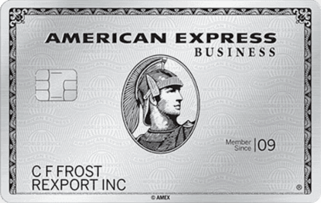 amex business platinum dell credit