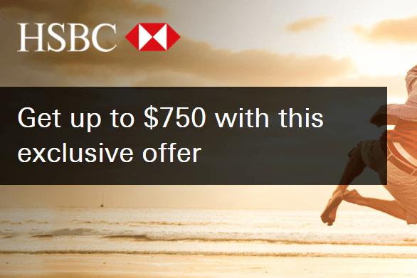 HSBC, Get Up To $750 Checking Account Bonus Nationwide