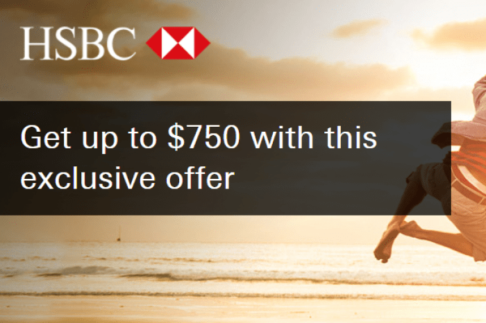 HSBC $750 Checking Account Bonus