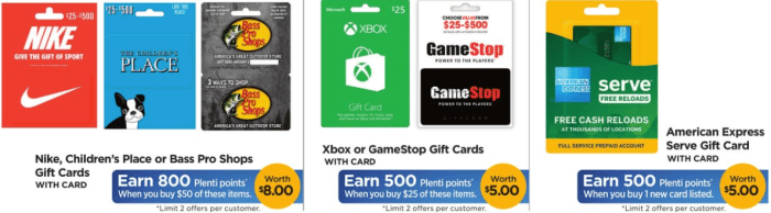 Discounted Gift cards At Rite Aid