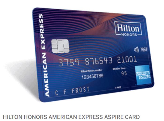 amex hilton aspire 150k bonus