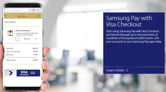 Use Samsung Pay Online
