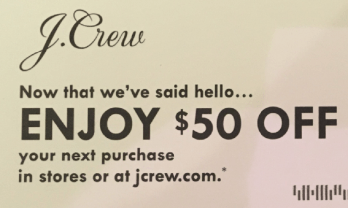 jcrew mail coupon