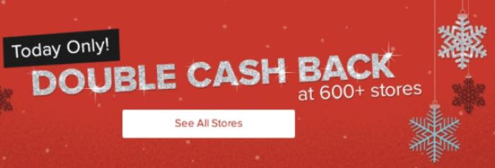 Ebates, Double Cashback