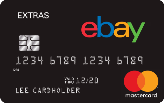 eBay/Paypal Extras Mastercard, Get $8 Credit with $80 Purchase