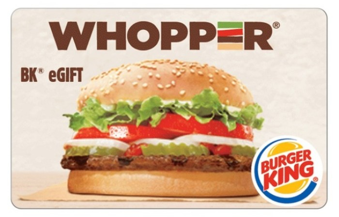 burger king groupon