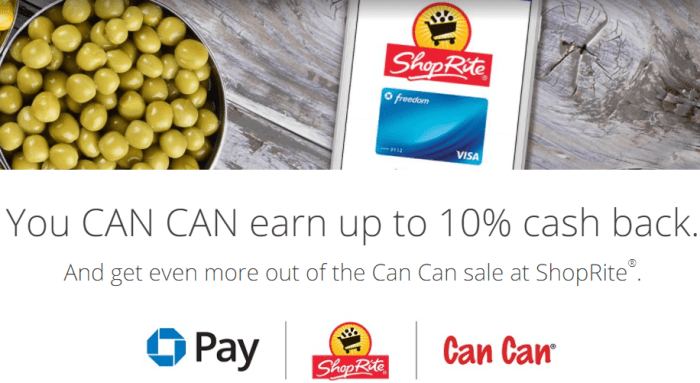 Chase Pay ShopRite Promo