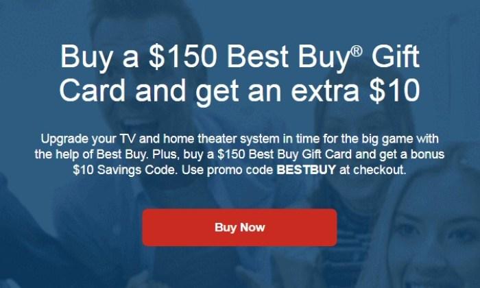 Gyft Best Buy Promo