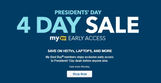 Best Buy President's Day Sale