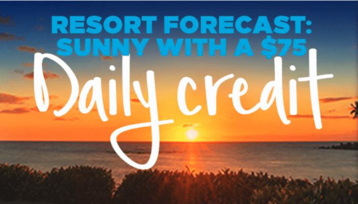 Hilton $75 Daily Credit