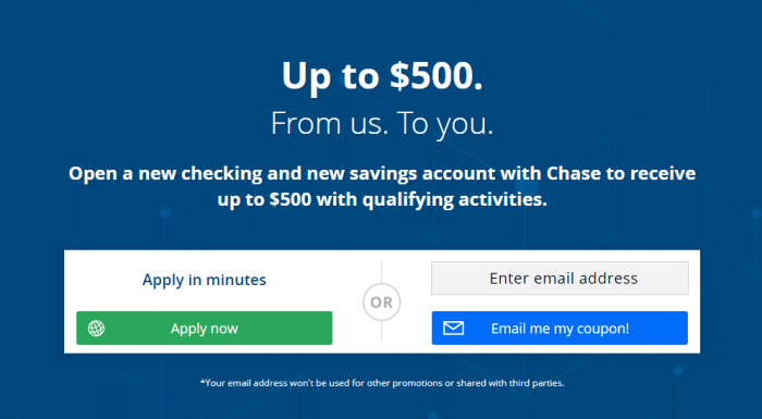 Chase 525 bonus