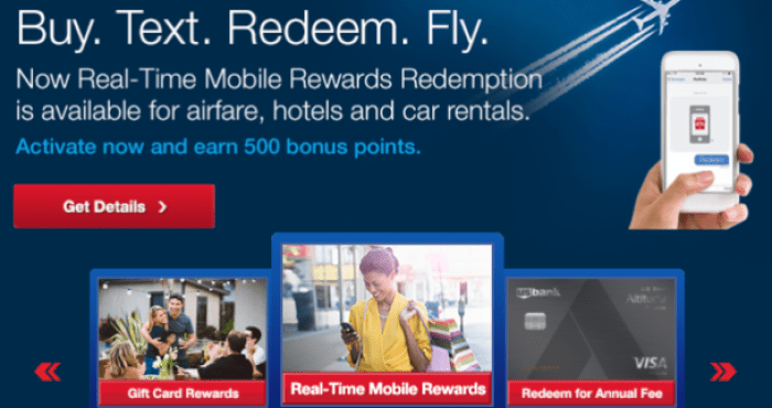 US Bank Real-Time Rewards, Redeem FlexPerks Anywhere - Danny