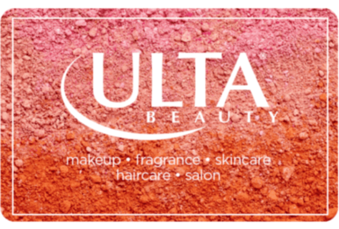 $20 Ulta Gift Card for $15