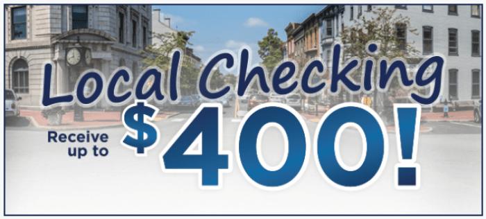 ACNB Bank 400 Bonus