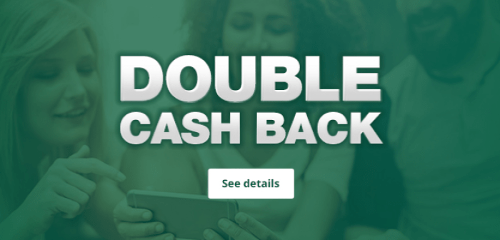 Double Cashback at TopCashback