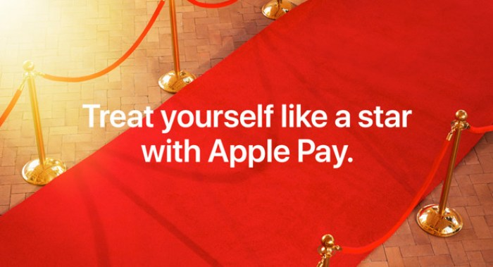 fandango apple pay