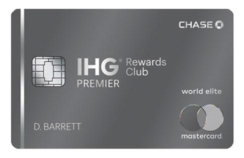 IHG Rewards Club Premier Card 140K offer