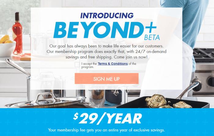 Bed Bath & Beyond BEYOND+